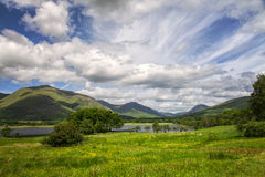 Loch Awe hills. Image of hills and clouds by Loch Awe, Scotland Stock Photography