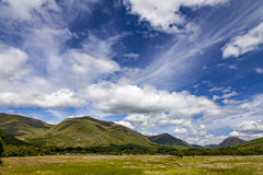 Loch Awe landscape Royalty Free Stock Image