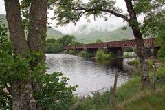Loch Awe, railway bridge Stock Photography