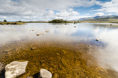 Loch Ba in Rannoch Moor Royalty Free Stock Photography