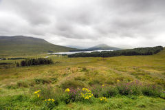 Loch Ba in Scotland. The Loch Ba viewpoint on the A82 near Glencoe in Scotland Royalty Free Stock Images