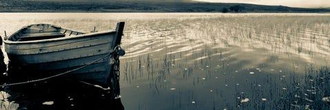 Loch boat Stock Image