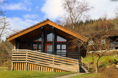 Loch Cabin Royalty Free Stock Images