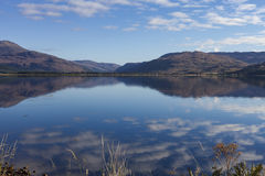 Loch Carron From Lochcarron Royalty Free Stock Photo