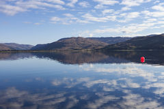 Loch Carron From Lochcarron Stock Photos