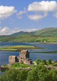 Eileann Donan castle, Kintail, Scotland Royalty Free Stock Photo