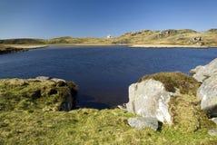 Loch Ceann Hulabhaig, Callanish, Eiland van Lewis, Schotland, het UK Royalty-vrije Stock Foto's