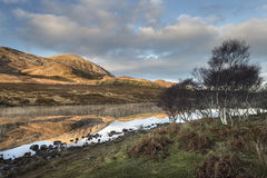 Loch Cill Chriosd & Beinn na Caillich On Skye in Scotland. Stock Image