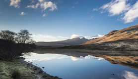 Loch Cill Chriosd & Blaven on the Isle of Skye. Royalty Free Stock Photography