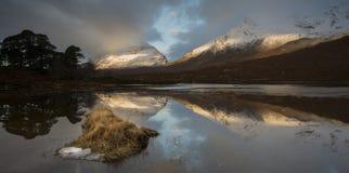 Loch Clair Photographie stock