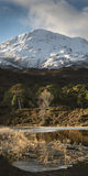 Loch Clair Image stock