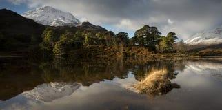 Loch Clair Photos libres de droits