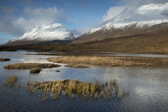 Loch Clair Photo stock