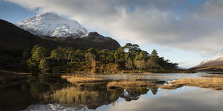Loch Clair Royalty Free Stock Image