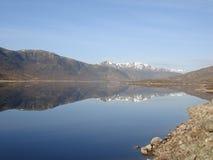 Loch Cluanie Images libres de droits