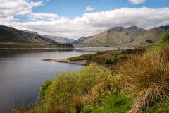 Loch Cluanie Foto de Stock