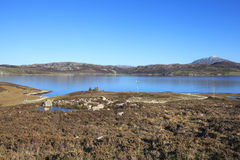 Loch Cluanie, Scotland, UK Royalty Free Stock Images