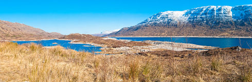 Loch Cluanie Valley Royalty Free Stock Photos