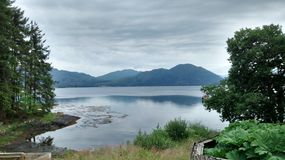 Loch Creran. Loch view from Sea Life Sanctuary Stock Images