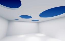 Loch-Decken-Raum Stockbild