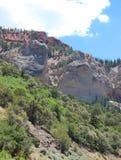 Loch in der Felsformation Lizenzfreies Stockfoto