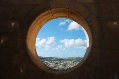 Loch in der Wand stockfotografie
