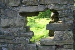 Loch in der Wand? stockfotos