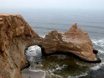 Loch in der Wand - Paracas, Peru Lizenzfreie Stockbilder
