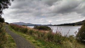 Loch do lago do rio de Escócia Fotografia de Stock