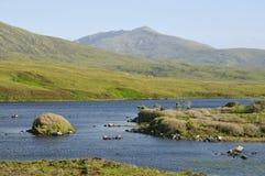 Loch Druidibeag & Beinn Mhor Stock Photo
