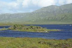 Loch Druidibeag & Hecla Stock Foto's