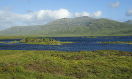 Loch Druidibeag & Hecla Stock Photography