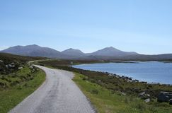 Loch Druidibeag Nature Reserve South Uist Royalty Free Stock Photo