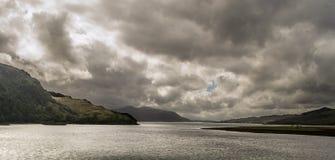Loch Duich стоковое изображение