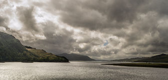 Loch Duich Stock Afbeelding