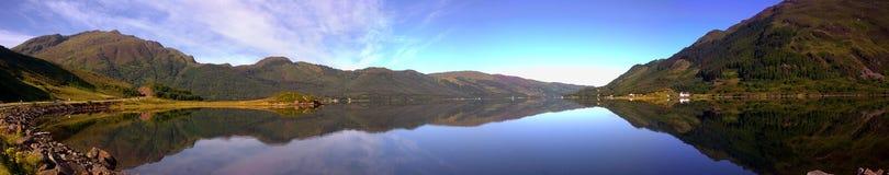 Loch Duich Stockfoto