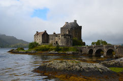 Loch Duich with Eilean Donan Castle Royalty Free Stock Photo