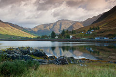 Loch Duich - Rugged Scottish landscape Stock Images