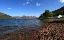 Loch Duich Schotland Royalty-vrije Stock Afbeeldingen