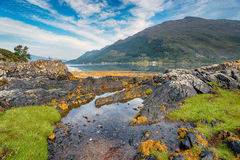 Loch Duich in Scotland Stock Photography