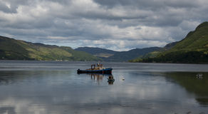 Loch Duich in the Scottish Highlands Royalty Free Stock Image