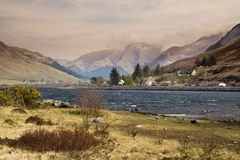Scottish landscape - Loch Duich Stock Photo