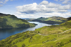 Loch Duich View. A view along loch duich scotland looking west royalty free stock photo