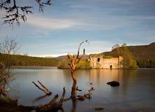 Loch an Eilean castle Stock Photo