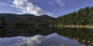 Loch An Eilein early morning Royalty Free Stock Image