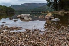 Loch an Eilein stock photo