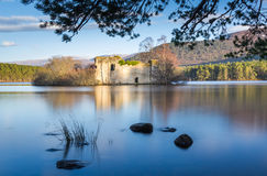Loch an Eilein, Scotland Stock Photo