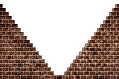 Loch in einer Backsteinmauer vektor abbildung