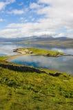 Loch Eriboll van verticaal A838, Stock Foto