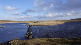Loch on Eshaness Royalty Free Stock Photography